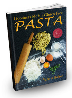 Goodness Me it's Gluten Free PASTA Cookbook