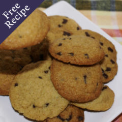 Goodness Me Gluten Free Chocolate Chip Cookies
