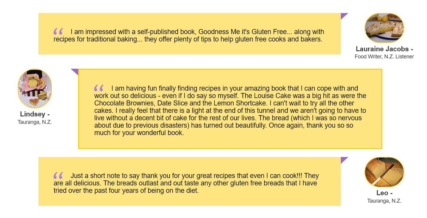 Reviews of Baking Book