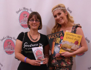 Vanessa from Goodness Me and Sarah from Sarahs Skinny Sweets