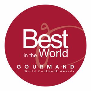 Gourmand Awards Best in World Awards sticker