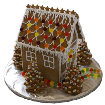 How I ended up with a Gingerbread House this Christmas