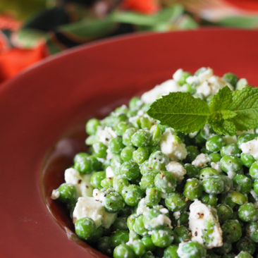 Gluten Free Pea & Feta Salad