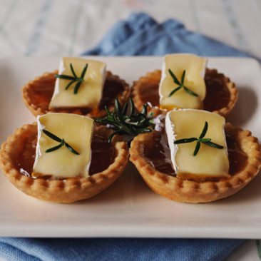 Goodness Me Gluten Free Apricot & Brie Tarts