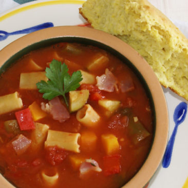 Goodness Me Gluten Free Minestrone Soup