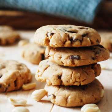Gluten Free Peanut Cookies