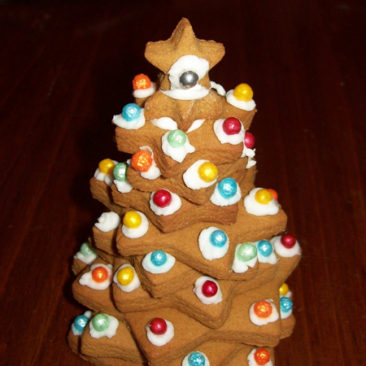 Goodness Me gluten free Christmas cookie trees