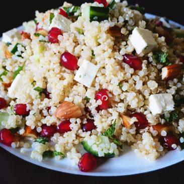 Goodness Me Gluten Free Super Spring Quinoa Salad
