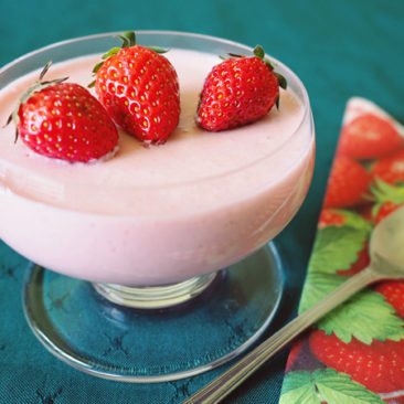 Goodness Me Gluten Free Strawberry Mousse