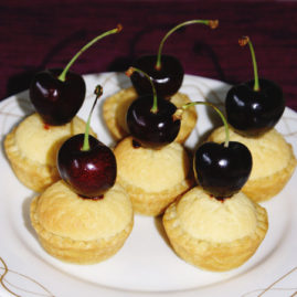Goodness Me gluten Free Cherry Almond Tarts